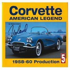 Corvette American Legend: 1958-1960 Production, Adams, Noland, Good Condition, B