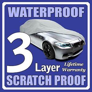3 Layer Suv Cover Waterproof Layers Outdoor Indoor Car Truck Fleece Lining Fii1