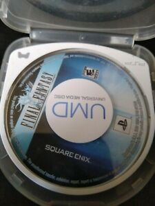 Final Fantasy game disc - Square Enix - Sony PSP  Game