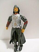 LORD OF THE RINGS LOTR ARAGORN KING OF GONDOR  W/ SWORD   LQQK!!