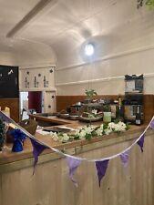 Classic catering trailer ✅ Gin Bar ✅ Horse box conversion ✅ Weddings ✅ Coffee ✅