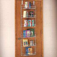 over the door spice rack hanging organizer kitchen pantry