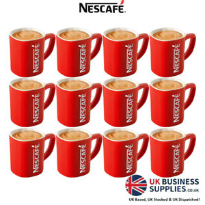 Nescafé Iconic Stylish Modern Red Tea & Coffee Mug - Perfect Gift for Any Event