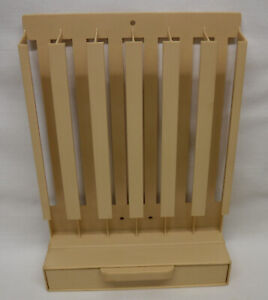 """Plastic Wall Mount or Self-Standing 1"""" Sewing Thread Spool Holder Dispenser"""