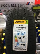 225 50 ZR17  98W XL M+S TYRE 225 50 17 1 TYRE 'B' RATING RAIN 2255017