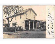 ST1610b: GARRIS' STORE STILLWATER NJ (RPPC/postcard 1906 postmark)