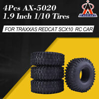 "4Pcs AUSTAR AX-5020 1.9"" Crawler Tires for 1/10 Traxxas Redcat SCX10 AXIALRC Car"
