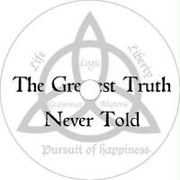 The Greatest Truth Never Told Conspiracy Documentary DVD