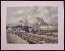 Cincinnati Union Terminal 1942 Limited Edition Art Print Richard Roflow