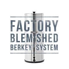 Factory Blemished Travel Berkey Water Filter System (Authorized Dealer)