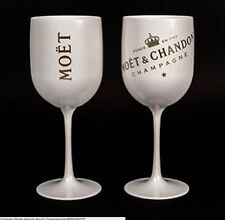 Moet Chandon Ice Imperial Champagne Acrylic Glass Goblet New 2016 set x 2 !