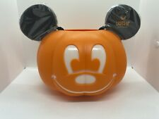 Disney Parks Mickey Mouse Pumpkin Halloween Light Up Trick or Treat Bucket
