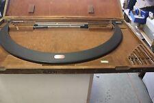 Starrett 724 750mm 900mm Interchangeable Micrometer 24 775 875