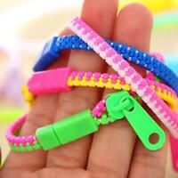 Zipper Bracelet Stress Relie Toys Fidget Products Kids Children Toy Sensory Q1X3