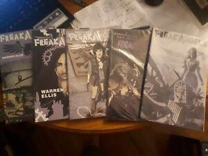 AVATAR Graphic Novels - Freak Angels Vols 1-5.  Ellis and Duffield