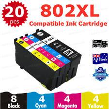 Genuine Epson 802XL Black Ink Cartridge T356192 DURABrite Ultra for Wf4720 4740
