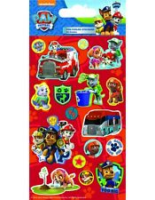 Paper projects Paw Patrol Reusable foil Craft stickers Age 3 + / Red Glitter