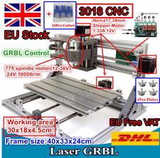 【EU Stock】3 Axis USB 3018 CNC Router Kit DIY Mini Laser Milling Engraver Machine