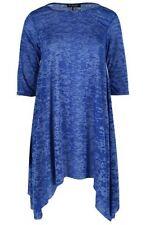 Vestiti da donna maniche a 3/4 blu taglia M