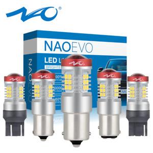 DRL 1300LM LED Car Tail Bulb Brake Lights Reverse Lamp Daytime Running Signal