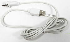 Genuine Belkin White USB Charging Cable for 2G iPod Shuffle F8Z190 v.1
