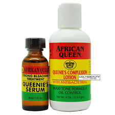 African Queen Basic Set: Queenie's Serum and Lotion