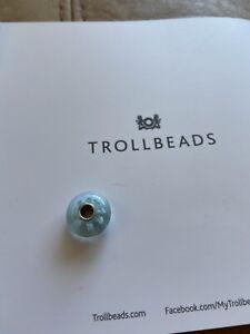 Trollbead Blue Glass