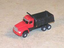 N Scale 2010 Kenworth Red Dump Truck