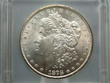 "1878 ""CC"" Morgan Silver Dollar $1 #Z  ICG MS64  ECC&C, Inc."