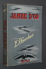JAMBE D'OR PERRY MASON E.S. GARDNER COLLECTION L'AIGLE NOIR N°6 EO 1949