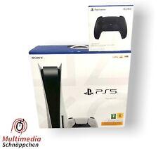 PlayStation 5 Disc Edition MIT 2 CONTROLLERN ?HÄNDLER?NEU & VERSIEGELT