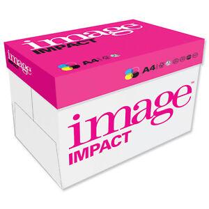A4 160GSM PAPER WHITE IMAGE IMPACT COPIER PRINTING INKJET 1250 SHEETS 5 REAMS