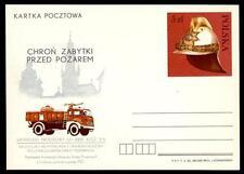 POLONIA - Intero post. - 1983 - (P861) - Protezione antincendio dei monumenti