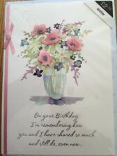Lovely Sister Marks & Spencer's Birthday Card