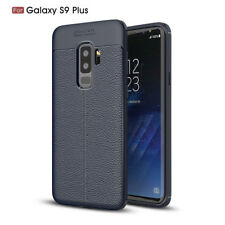 Shockproof Slim Silicone Leather Case Cover For Samsung Galaxy S9 S8 S7 S6 S5 S4