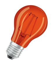 OSRAM LED STAR A Decor 2W E27 Lichtfarbe: Orange