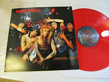Hanoi Rocks Oriental Beat '89 RED wax re ltd Vinyl Uzi Suicide Michael Monroe lp