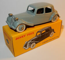 RARE DINKY TOYS ATLAS CITROEN TRACTION 11 BL GRIS CL 1/43 BOX REF 24N NOEL 2010