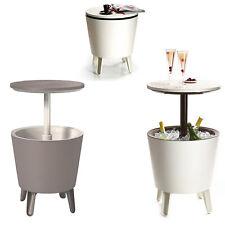 Keter Cool Bar Garden Drink Cooler Side Table Bar - 2 Colours - Elegant Design