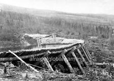 Photo 1903 Bonanza Creek Gold Mine - Klondike, Canada