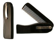 Dr.Dittmar Horn Comb Buffalo Horn Men's Comb Folding Comb Pocket Comb Handmade