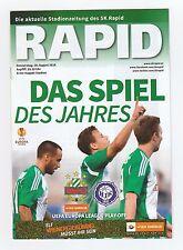Orig.PRG   Europa League  2014/15   RAPID WIEN - HJK HELSINKI  !!  SELTEN