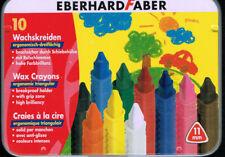 Eberhard Faber 10 wachskreiden con schiebehülse wachsmalstifte