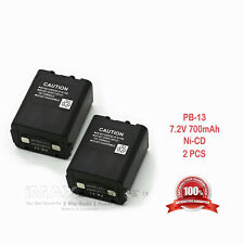 2 x Pb13 Pb-13 Battery for Kenwood Th-78 Th-78A Th-78E