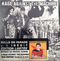 Rage Against The Machine CD Single Bulls On Parade - Europe (EX+/M)