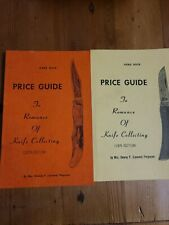 Price Guide To Romance Of Knife Collecting 1976 & 1978 Edition