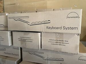 Humanscale 6G Mounted Keyboard System (6G90011RF22-20161114-1348) NEW IN BOX!
