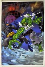 BATMAN vs KILLER CROC PRINT DC Animated Series