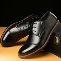 Men's Business Oxfords Leather Shoes Formal Dress Casual Loafers Wedding Party