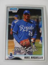 2010 Bowman Chrome #BCP217 Noel Arguelles Kansas City Royals RC Baseball Card